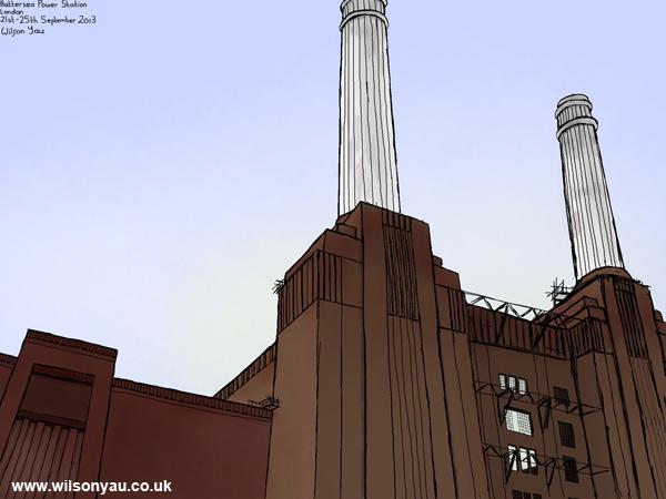 Battersea Power Station, London, 21st September 2013