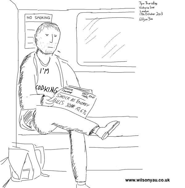 Thursday news, Victoria line, 17th October 2013