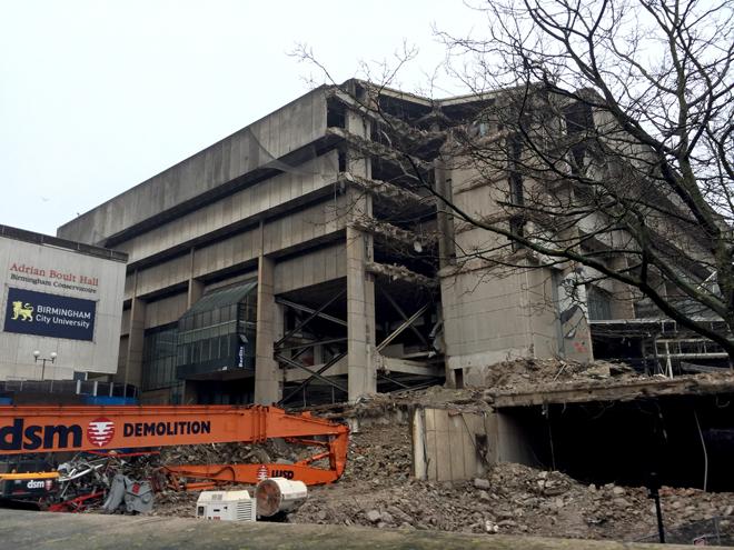 Brimingham Central Library, December 2015
