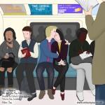 Monday morning, Victoria line, 11th April 2016