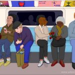 6pm, Good Friday, Pimlico to Brixton, Victoria line, London, 14th April 2017