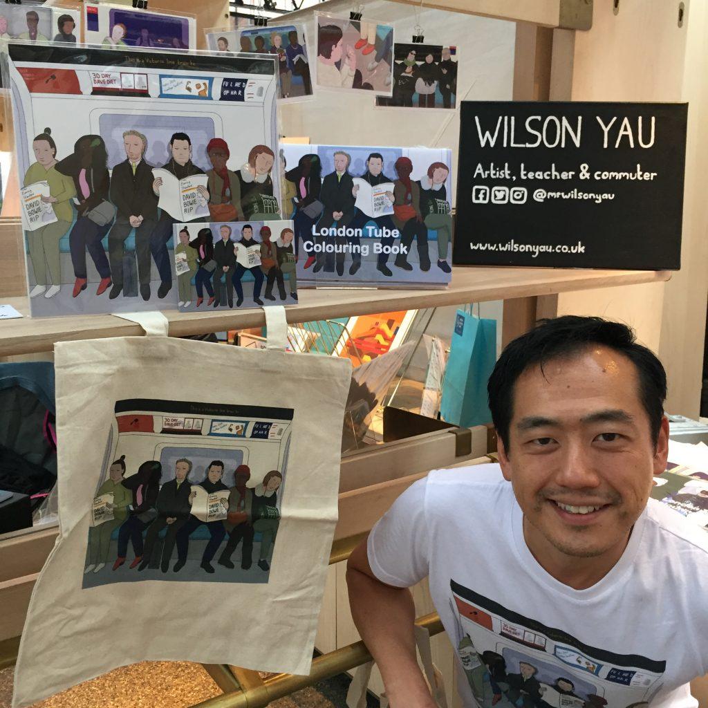 Wilson Yau, Spitalfields Market, London, 2018