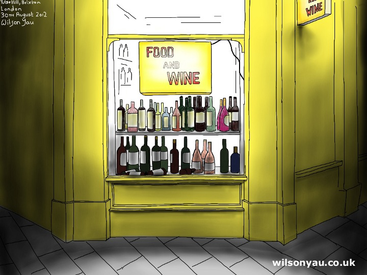 Food and wine shop
