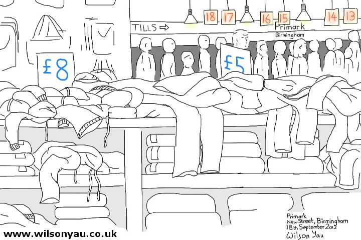 Primark store, Birmingham - 18th September 2012
