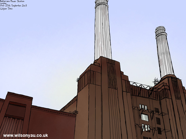 Battersea Power Station, London, 21st September 2013